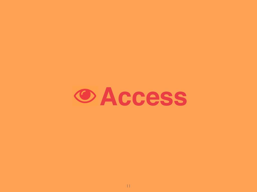 Access 11