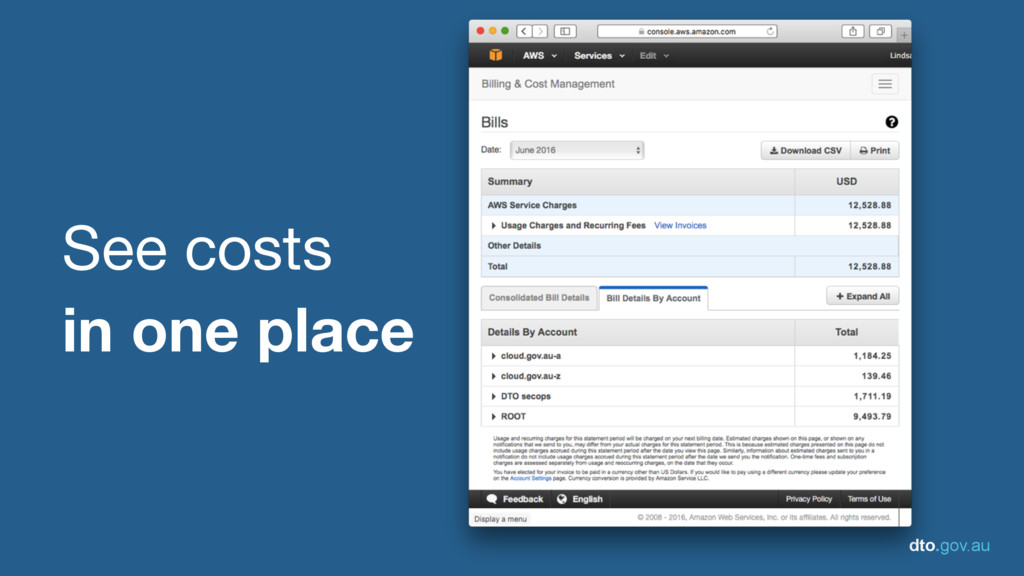 dto.gov.au See costs   in one place