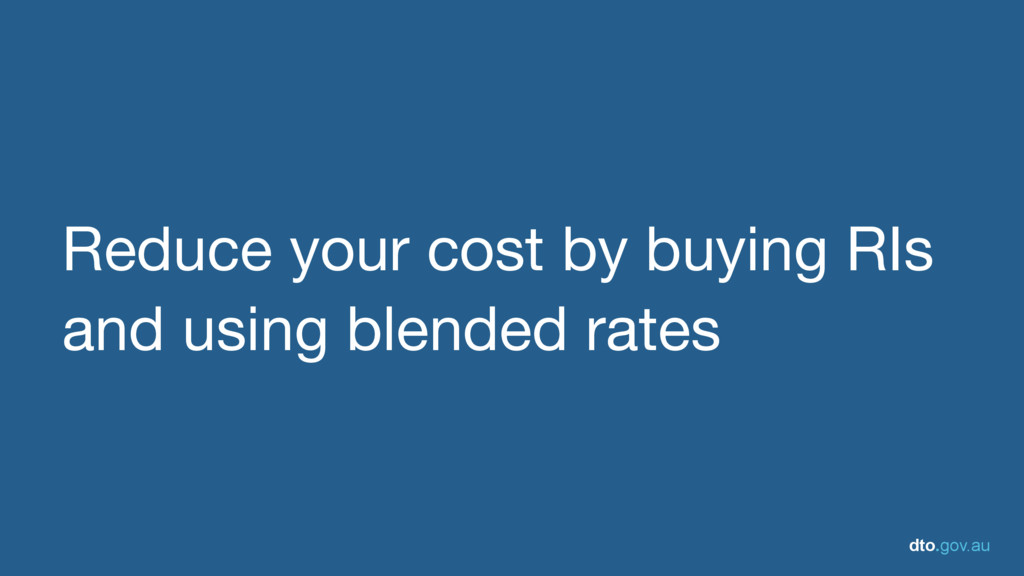 dto.gov.au Reduce your cost by buying RIs and u...
