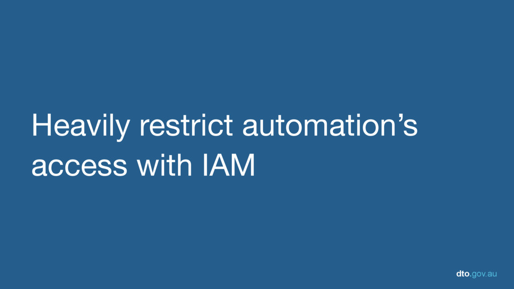 dto.gov.au Heavily restrict automation's access...