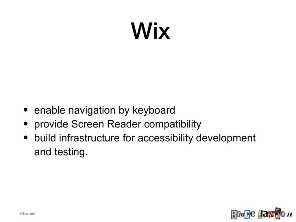 @brucel Wix • enable navigation by keyboard • p...