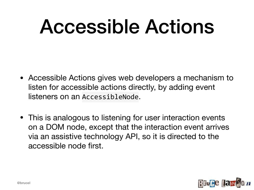@brucel Accessible Actions • Accessible Actions...