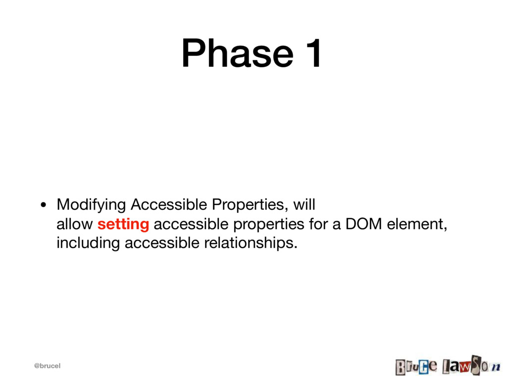 @brucel Phase 1 • Modifying Accessible Properti...