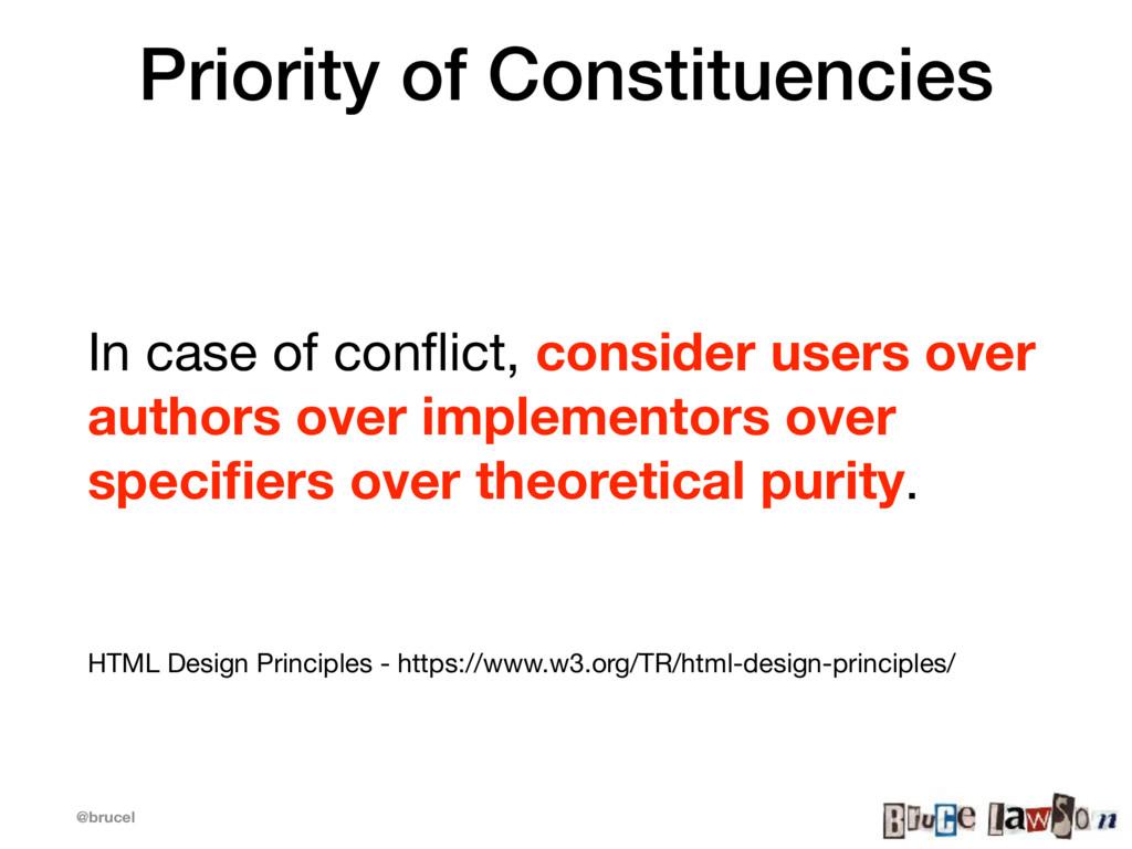 @brucel Priority of Constituencies In case of c...