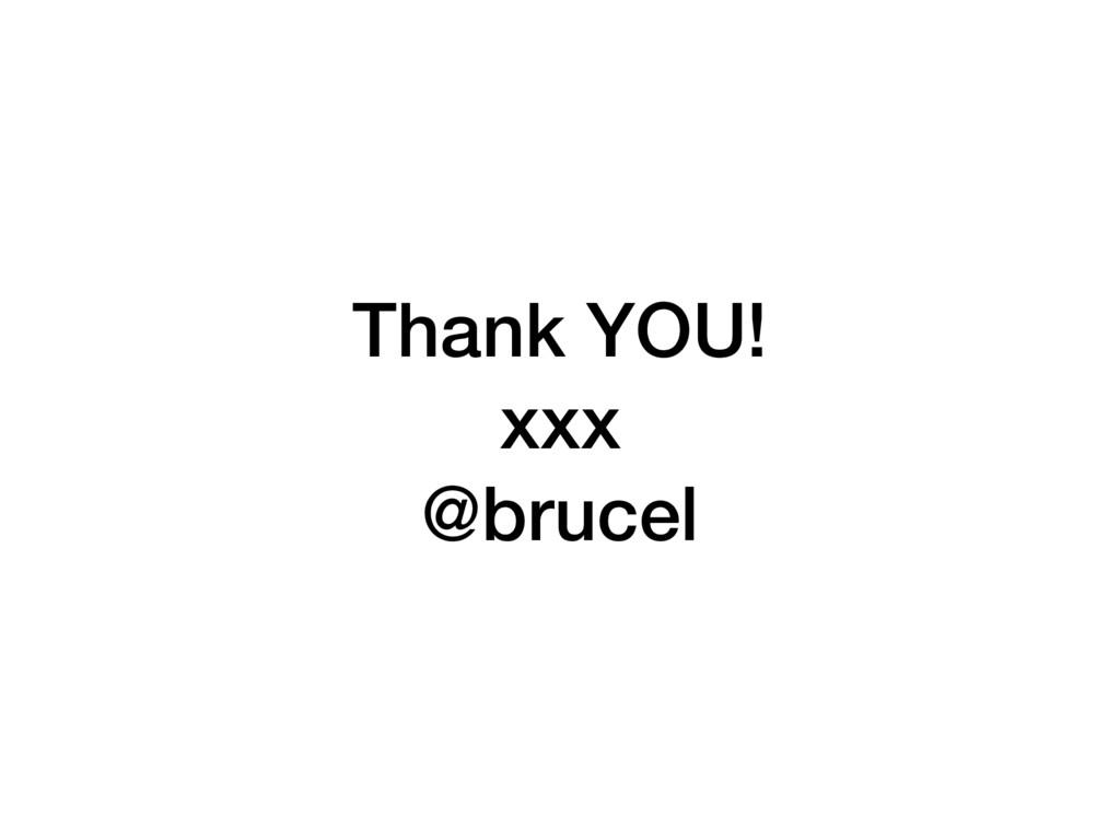 Thank YOU! xxx @brucel