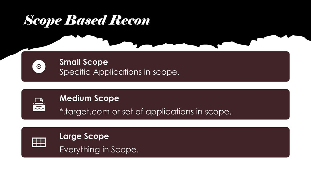 Scope Based Recon Small Scope Specific Applicat...