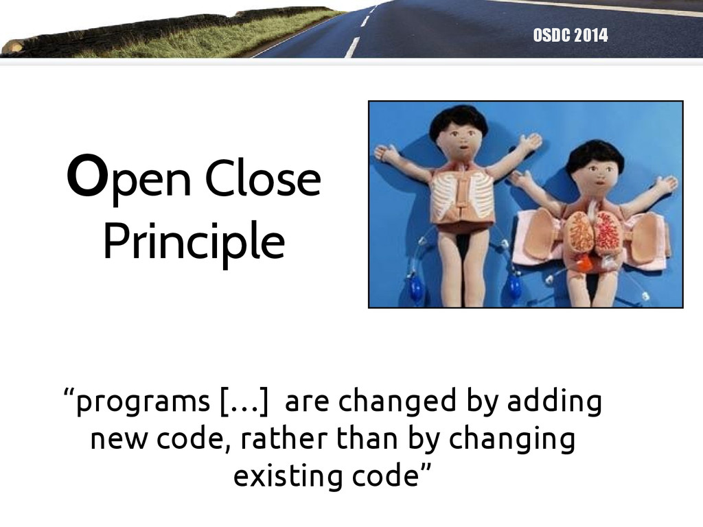 """OSDC 2014 """"programs […] are changed by adding n..."""