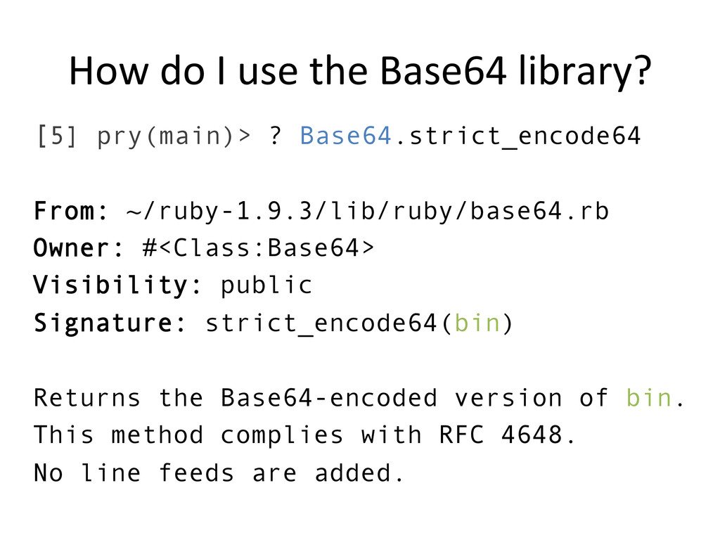 How do I use the Base64 libra...