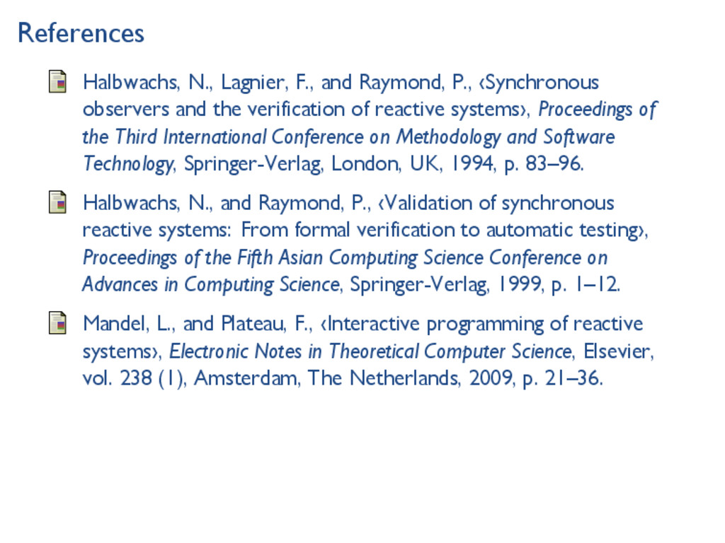 References Halbwachs, N., Lagnier, F., and Raym...
