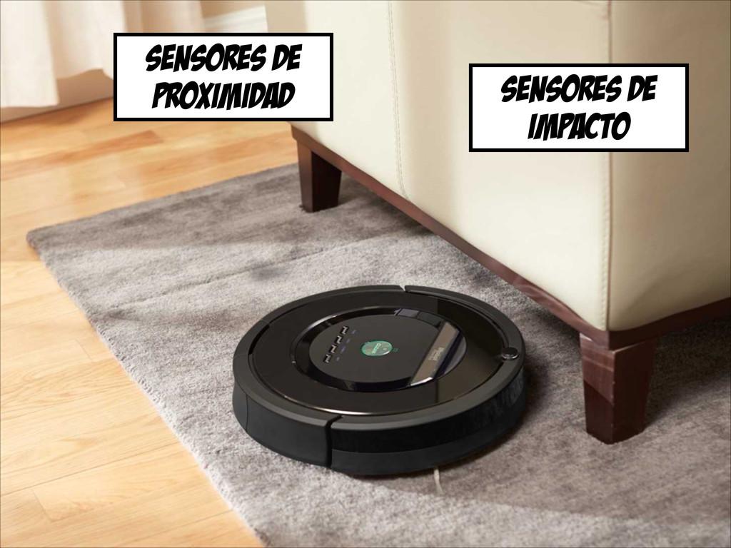 sensores de proximidad sensores de impacto