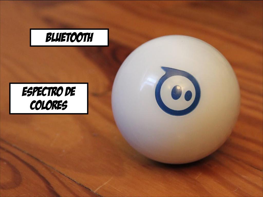 Bluetooth espectro de colores
