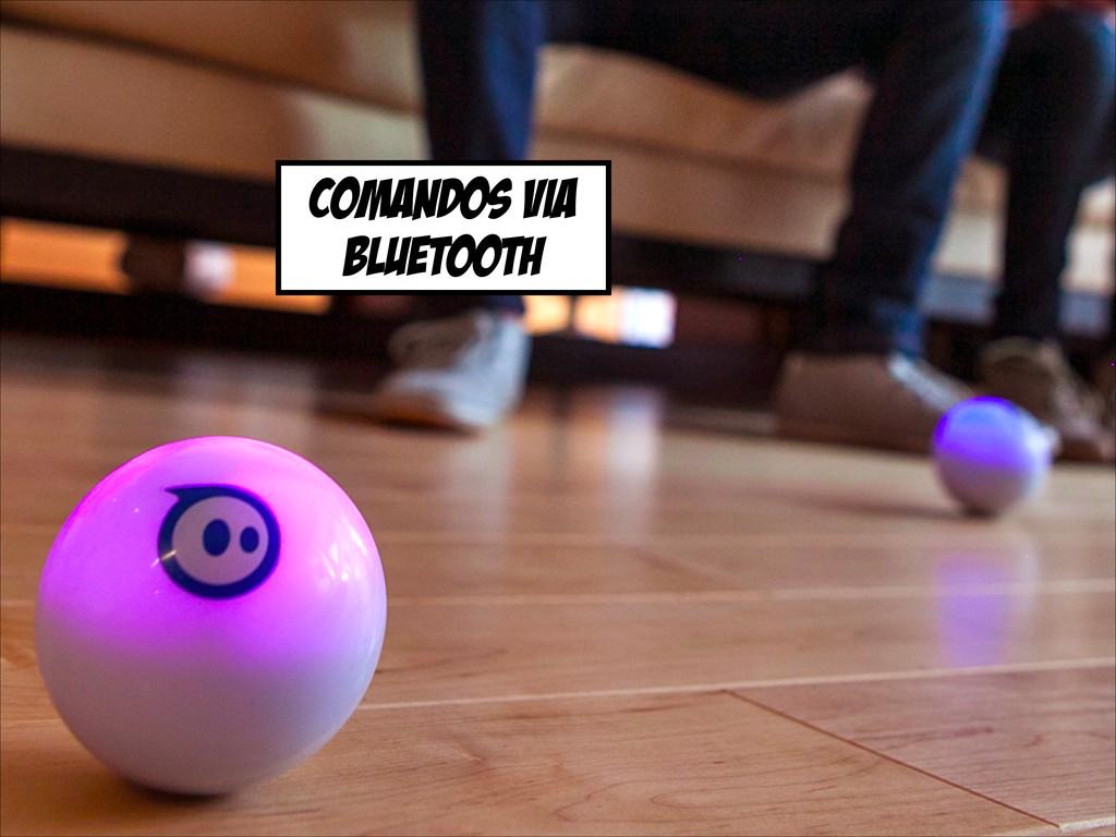 comandos via bluetooth