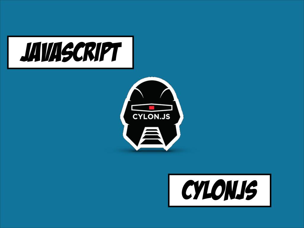 Javascript cylonjs