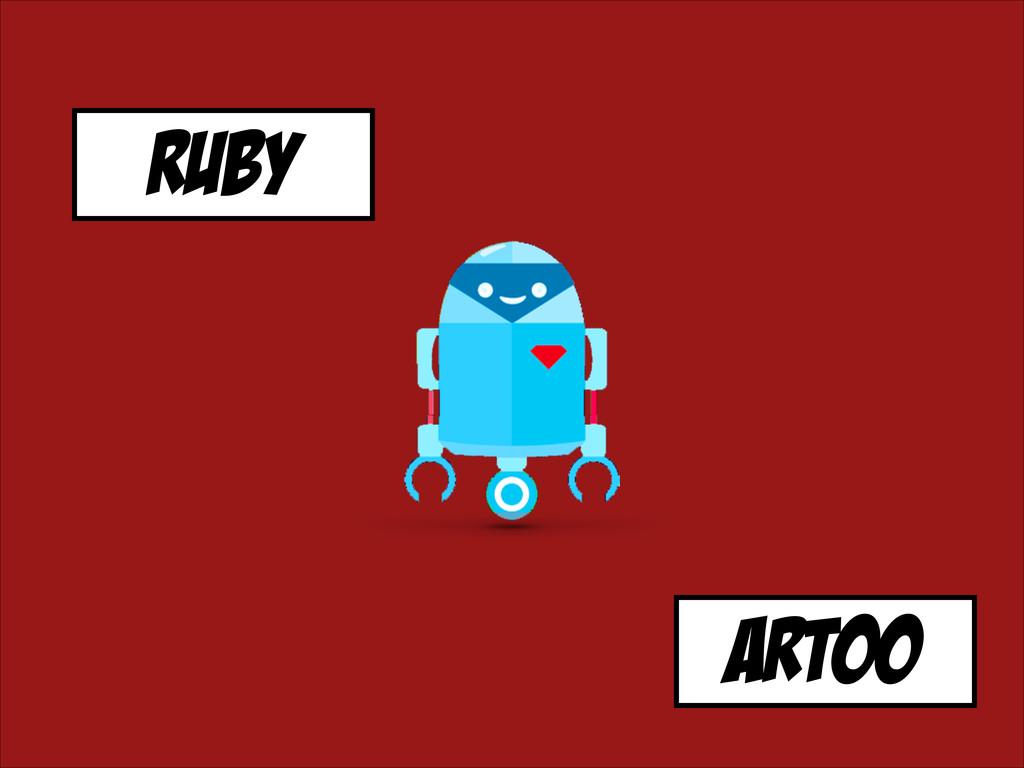 RUBY artoo