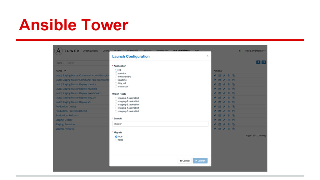 Ansible Tower