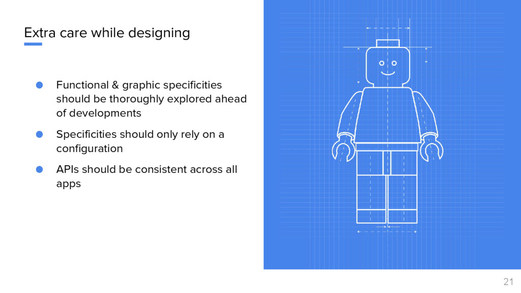 Extra care while designing ● Functional & graph...
