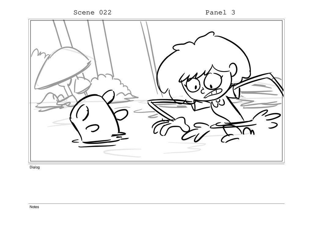 Scene 022 Panel 3 Dialog Notes