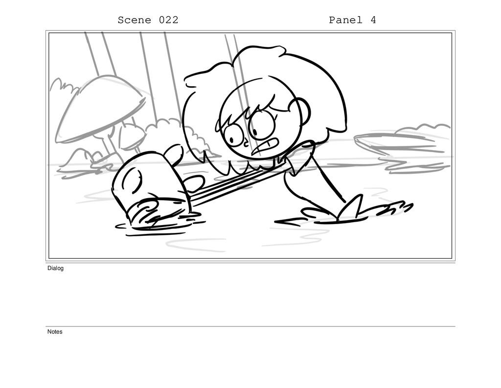 Scene 022 Panel 4 Dialog Notes
