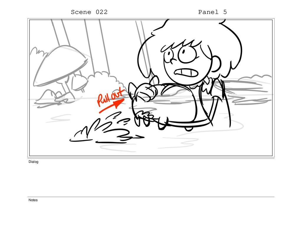 Scene 022 Panel 5 Dialog Notes