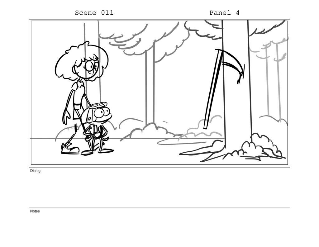 Scene 011 Panel 4 Dialog Notes