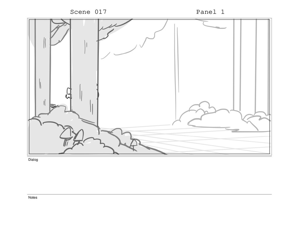 Scene 017 Panel 1 Dialog Notes