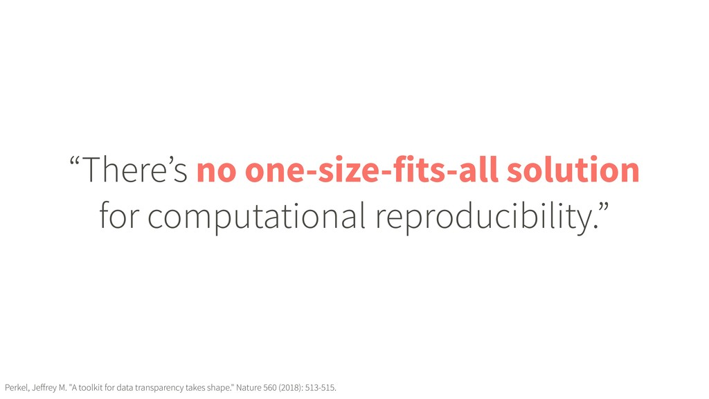 """""""There's no one-size-fits-all solution for comp..."""
