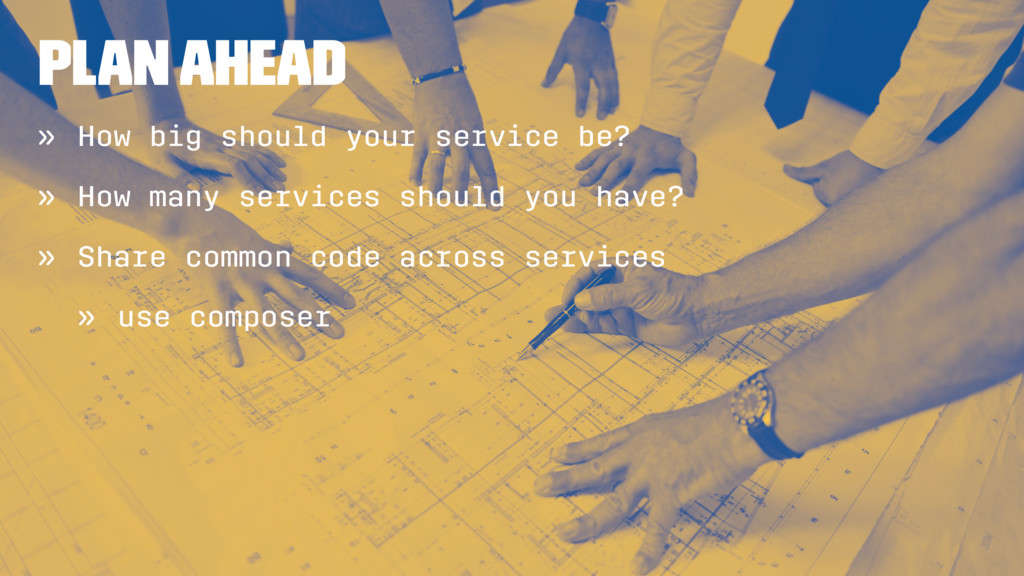 Plan ahead » How big should your service be? » ...