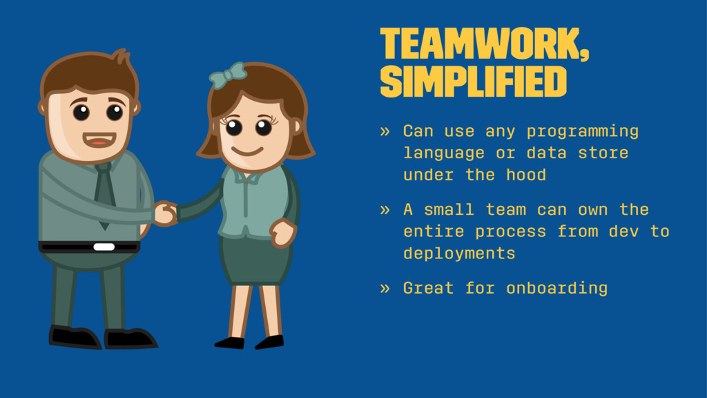 Teamwork, simplified » Can use any programming l...