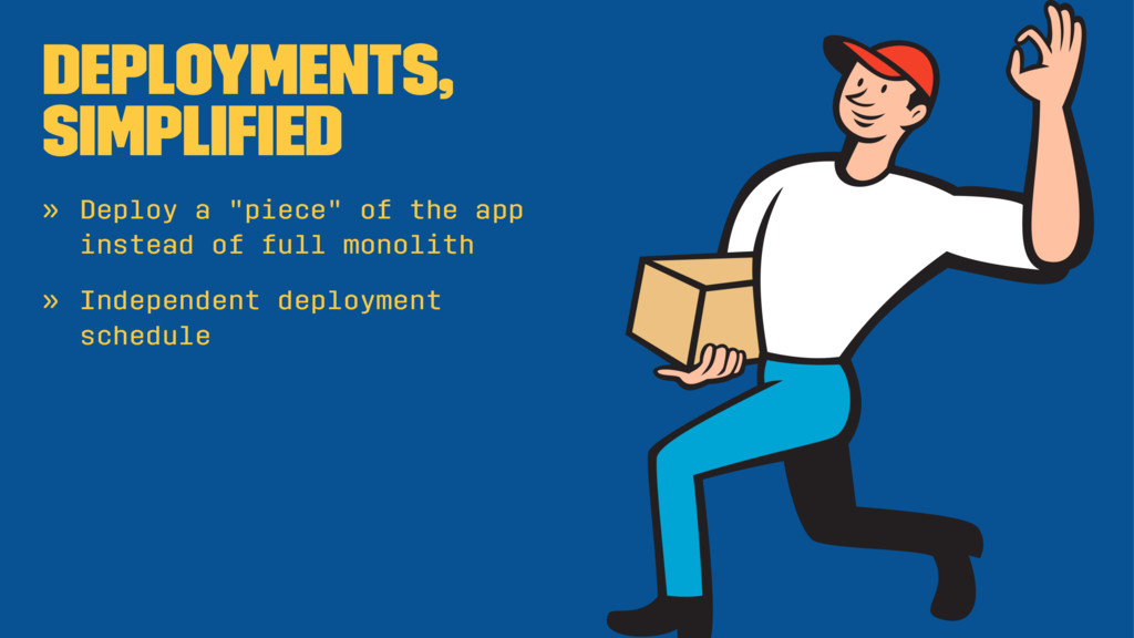 """Deployments, simplified » Deploy a """"piece"""" of th..."""