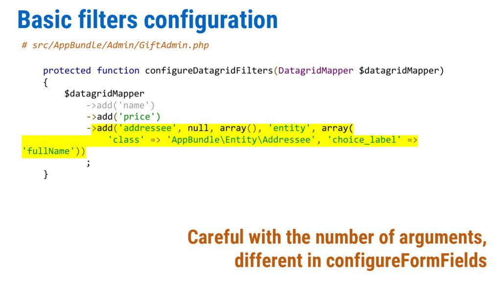 Basic filters configuration # src/AppBundle/Adm...