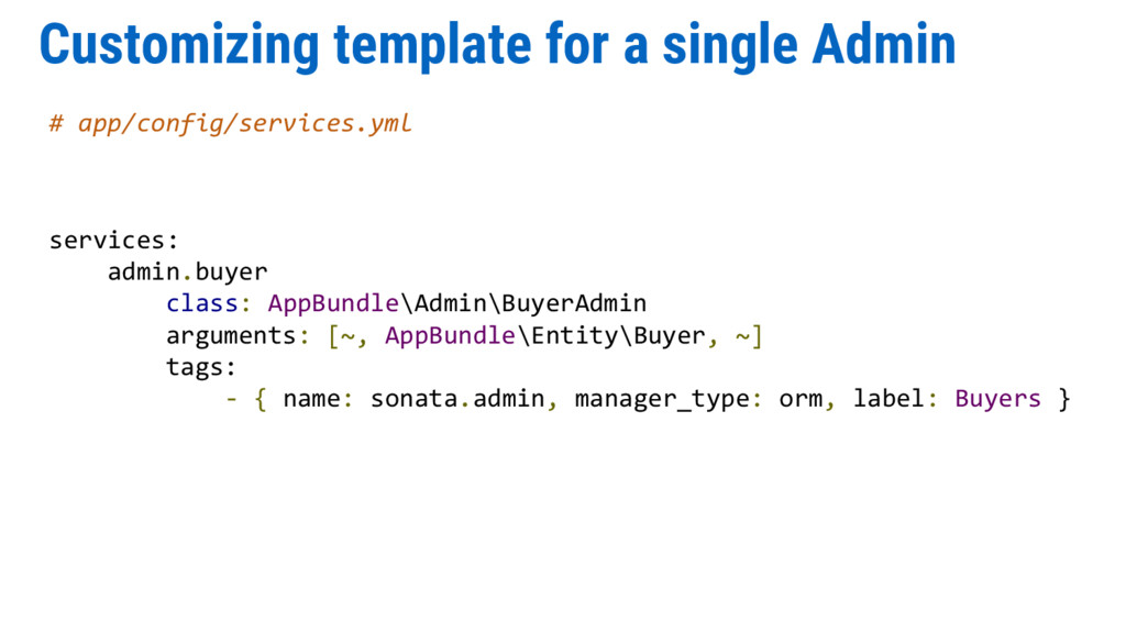 Customizing template for a single Admin # app/c...
