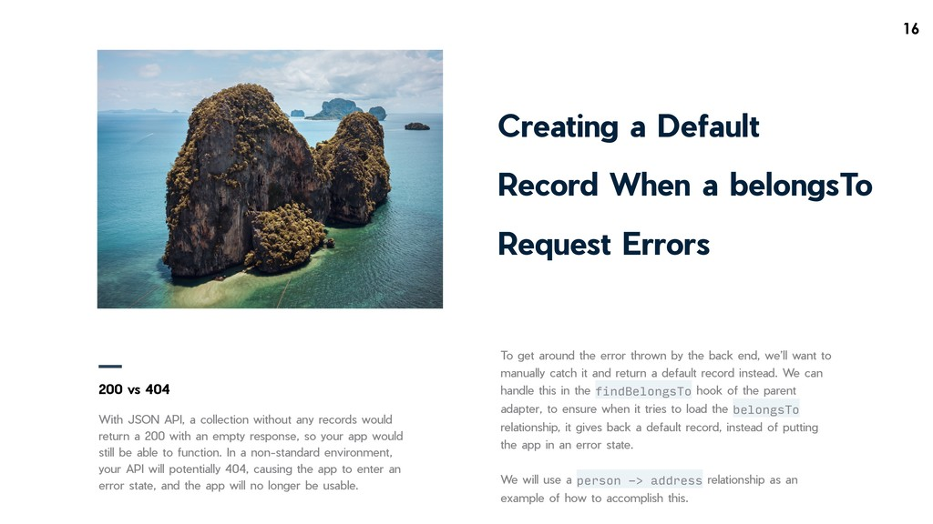 !16 Creating a Default Record When a belongsTo ...