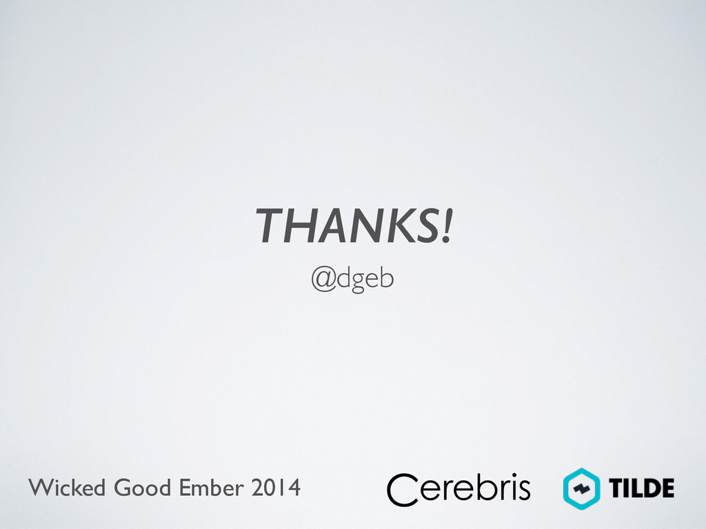 Wicked Good Ember 2014 THANKS! @dgeb