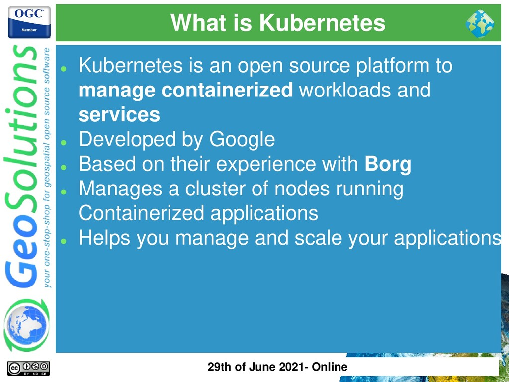 What is Kubernetes ⚫ Kubernetes is an open sour...