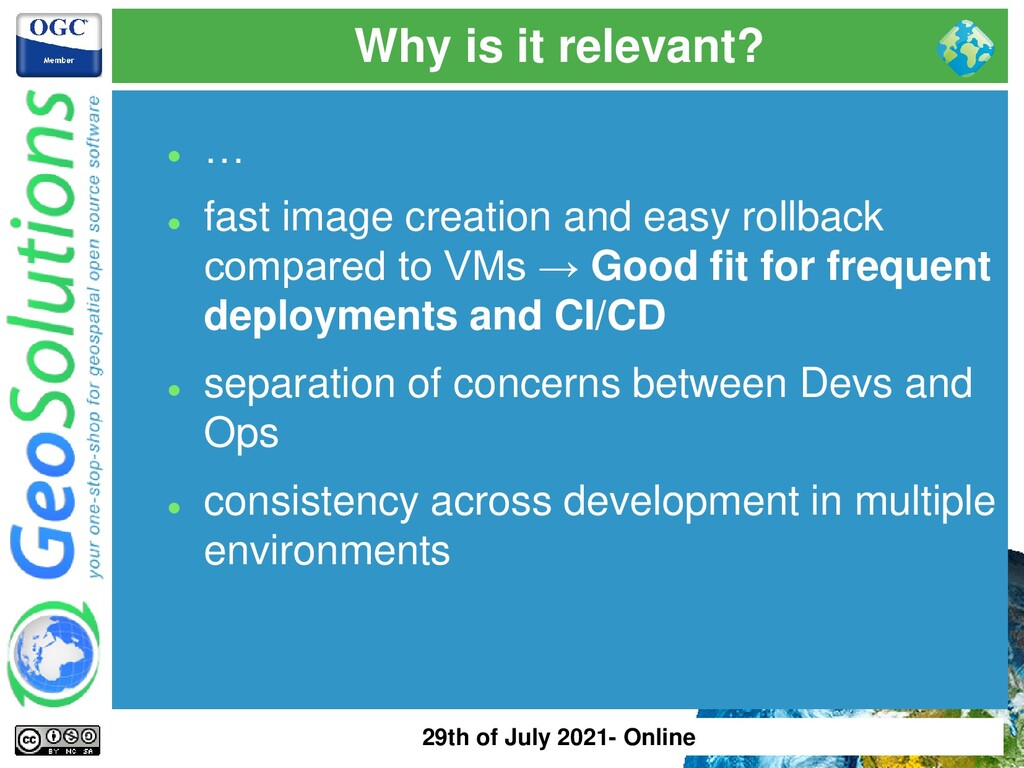 Why is it relevant? ⚫ … ⚫ fast image creation a...