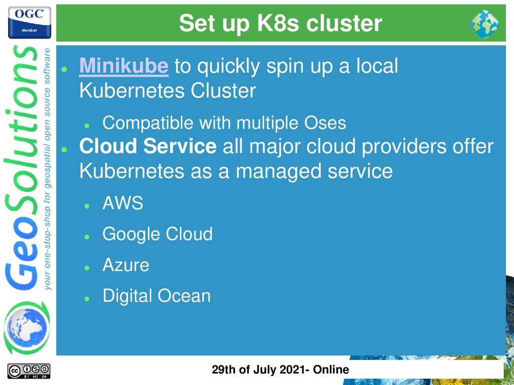Set up K8s cluster ⚫ Minikube to quickly spin u...