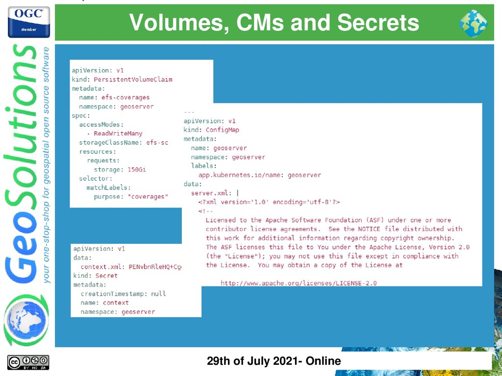 Volumes, CMs and Secrets 29th of July 2021- Onl...