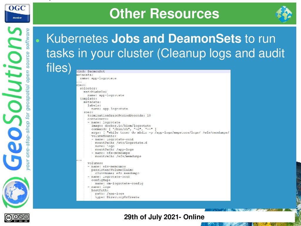 Other Resources ⚫ Kubernetes Jobs and DeamonSet...