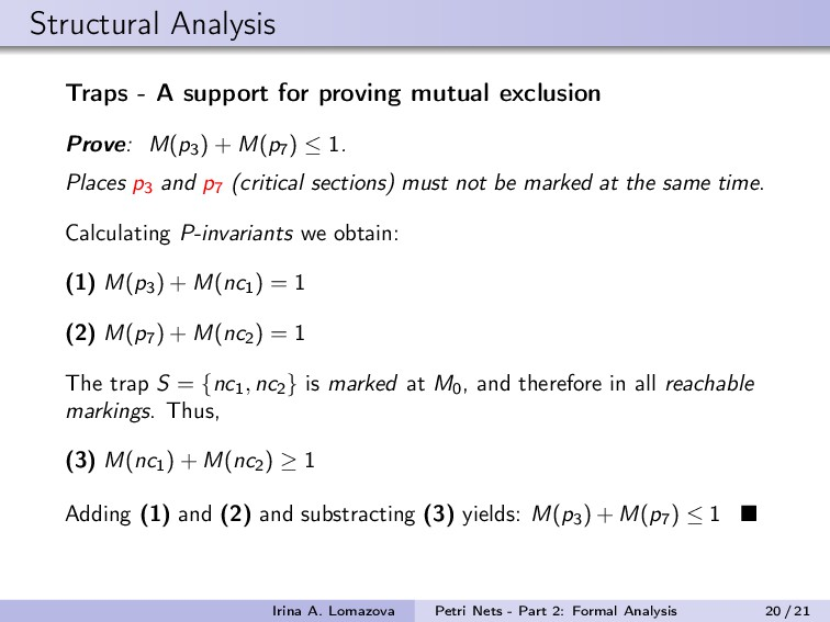Structural Analysis Traps - A support for provi...