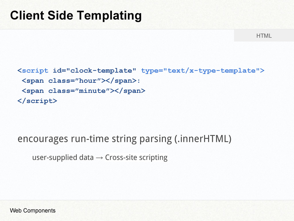 "Client Side Templating <script id=""clock-templa..."