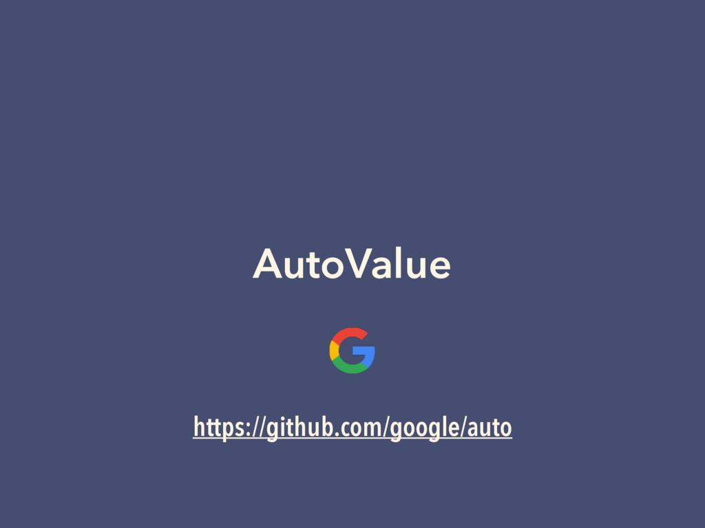 AutoValue https://github.com/google/auto