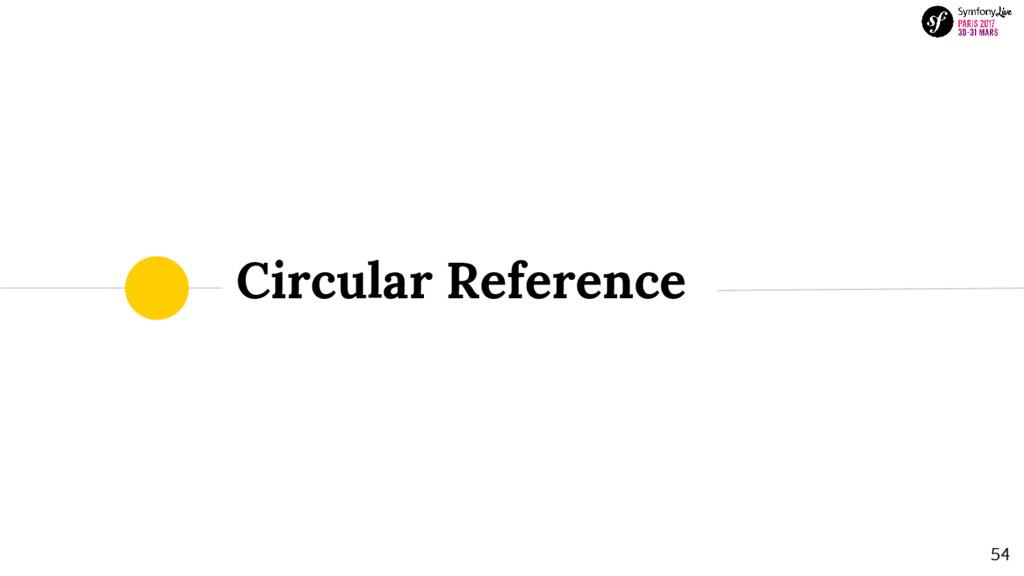 54 Circular Reference