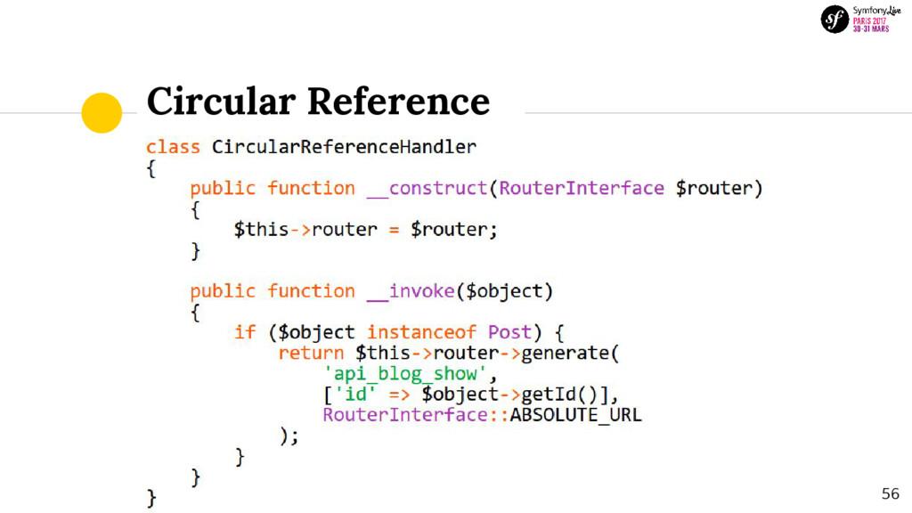 Circular Reference 56