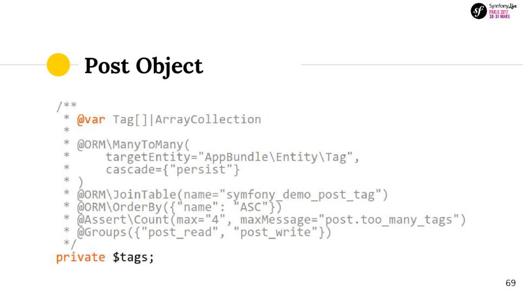 Post Object 69
