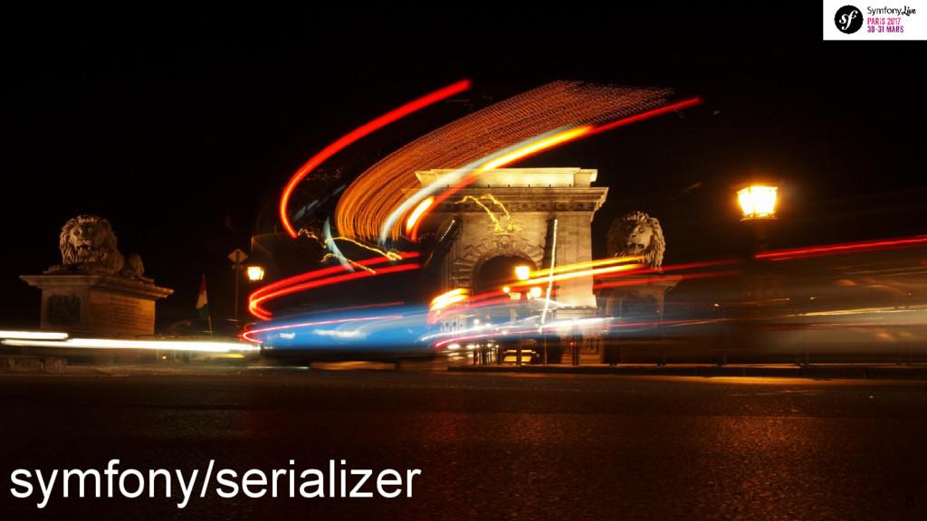 symfony/serializer 8