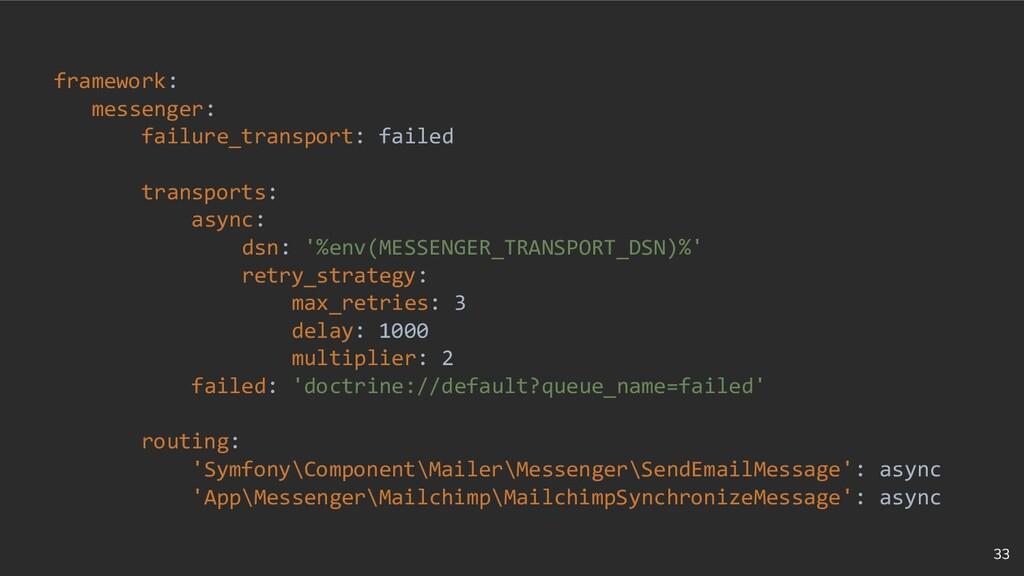 33 framework: messenger: failure_transport: fai...
