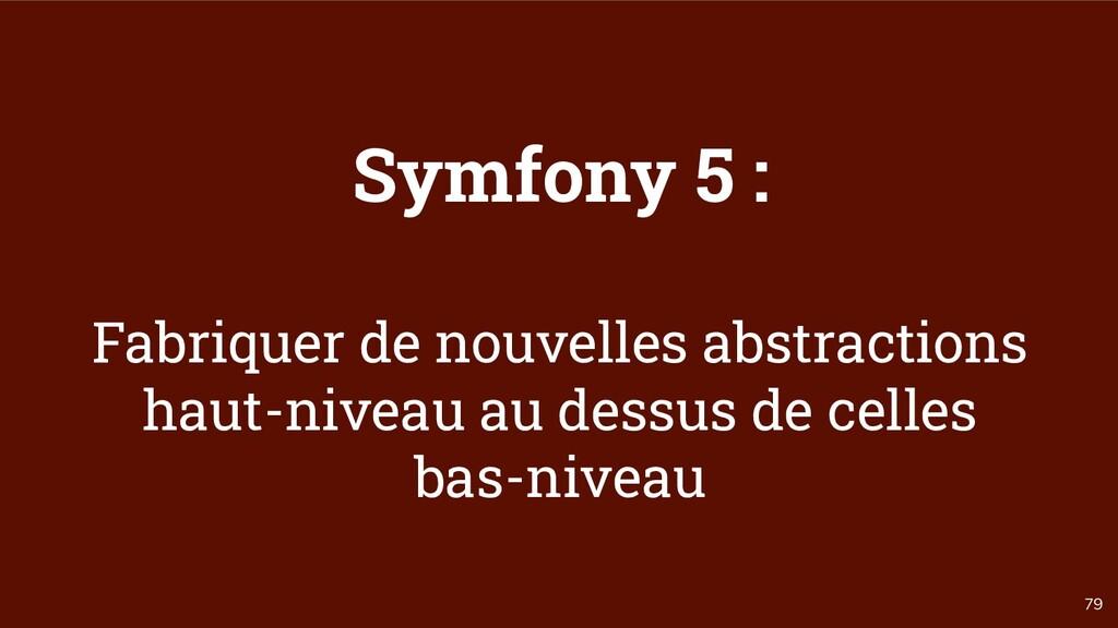79 Symfony 5 : Fabriquer de nouvelles abstracti...