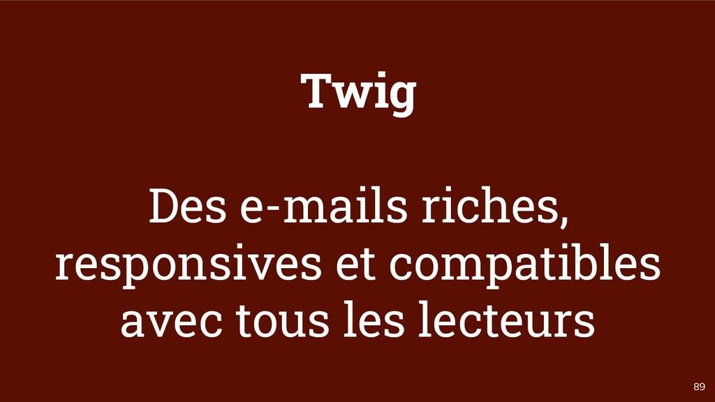 89 Twig Des e-mails riches, responsives et comp...