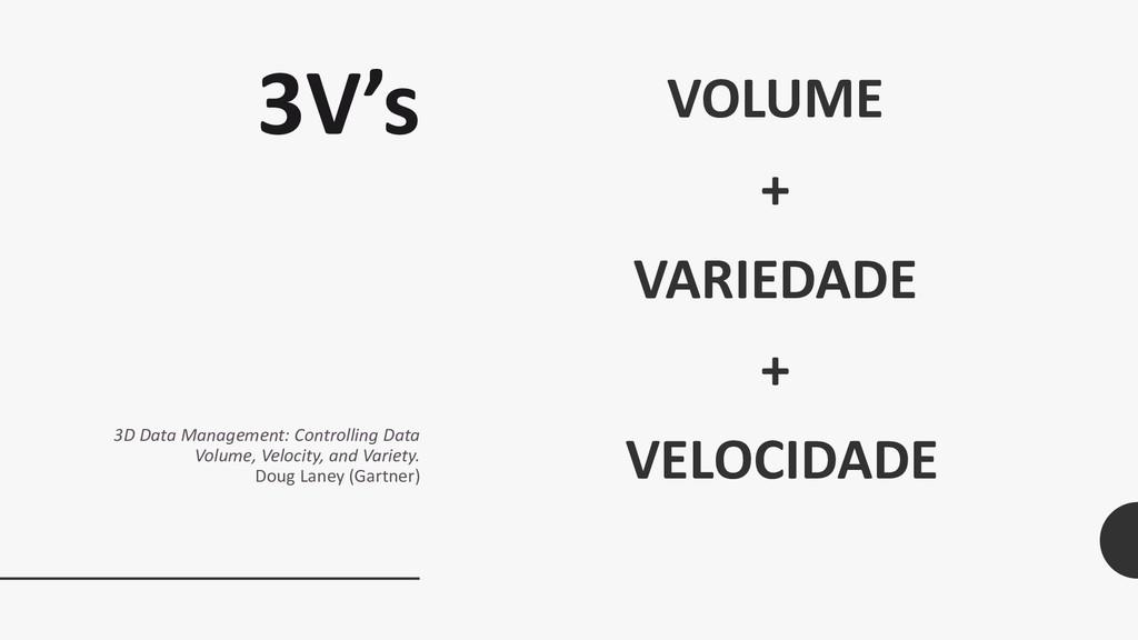 3V's 3D Data Management: Controlling Data Volum...