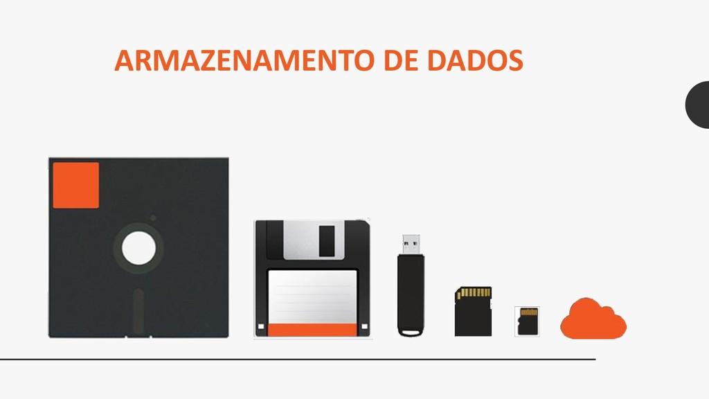 ARMAZENAMENTO DE DADOS